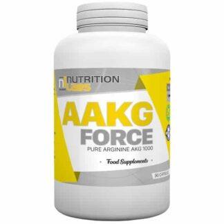 pure aakg force 1000 integratore di arginina alfa cheto glutarato ideale come stimolatore del pompaggio e per il rilascio di gh, ottimo anche come sexual stamina