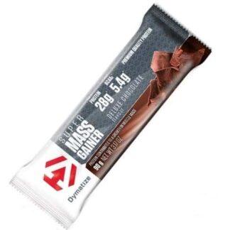 super mass gainer bar barretta proteico energetica post allenamento, contiene anche bcaa ramificati e 28g di proteine nette