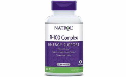 b100 complex integratore di vitamine del gruppo b ottimo per sostenere il rilascio di energia nello sport