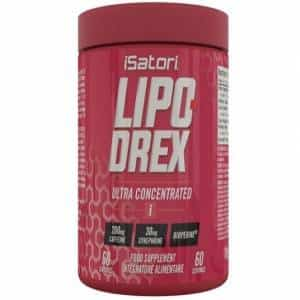 lipo drex ultra concentrate integratore brucia grassi a base di estratti vegetalii, aumenta il metabolismo basale e diminuisce l'appetito