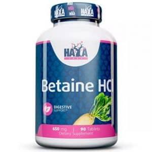 betaina hcl trimetilglicina si tratta di un estratto vegetale ottimo per la lsalute del cuore e del fegato, agisce anche come stimolatore di ossido nitrico