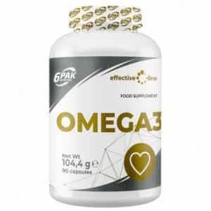 omega-3 1000 effective line integratore di acidi grassi essenziali per contrastare i radicali liberi