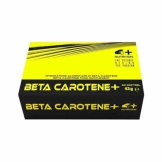 beta carotene precursore di retinolo, ottimo come antiossidante e di sostegno della funzione visiiva, agisce anche come aiuto per la pigmentazione della pelle