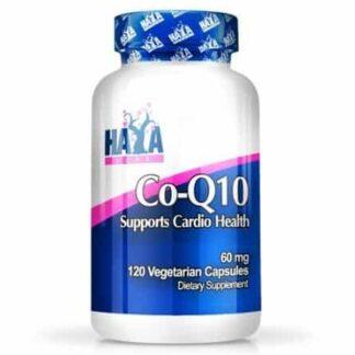co-q10 cardio health antioxidant integratore di coenzima q10 in alto dosaggio da 60 milligrammi ottimo per controllare lo stress ossidativo e sostenere il cuore