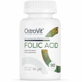 acido folico 400mcg integratore di vitamina b9 ottimo per la salute e la prestanza fisica nelle attività di resistenza