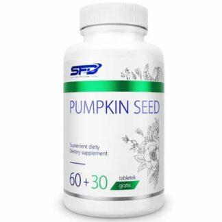 semi di zucca estratto antiossidante immunostimolante e di aiuto per il benessere della prostata