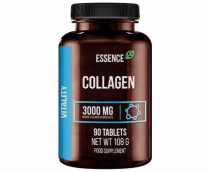 essence collagene 1000mg integratore per la funzione delle articolazioni e per la bellezza della pelle realizzato con collagene idrolizzato bovino