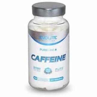 pure line caffeine 200mg integrator puro di caffeina, dimagrante energetico e di sostegno cognitivo