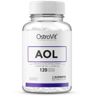 aol supreme capsules integratore di arginina, ornitina e lisina per stimolare il gh naturale