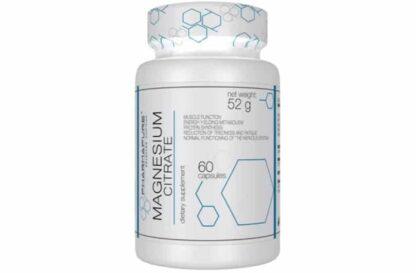 magnesio citrato 500mg minerale essenziale utile come energetico e per la densità ossea