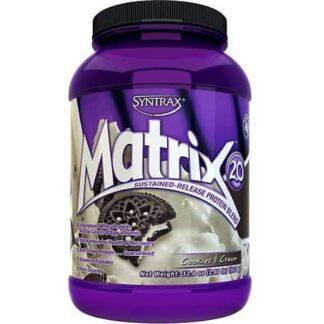 matrix 2.0 protein blend integratore proteico non denaturato a base di isolato e concentrato del siero con aggiunta di albumina e peptidi glutammina, ideale post allenamento