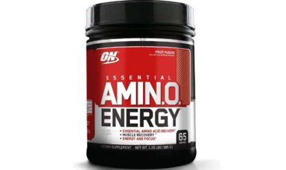 amino energy essential pre workout amminoacidico arricchito con caffeina e precursori di ossido nitrico