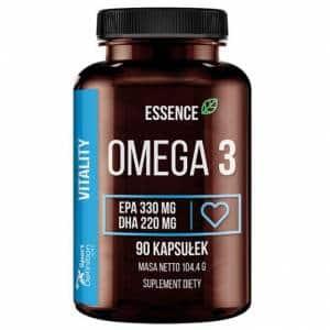 essence omega-3 1000 integratore di acidi grassi essenziali antiossidanti ed energetici da olio di pesce titolati in epa e dha