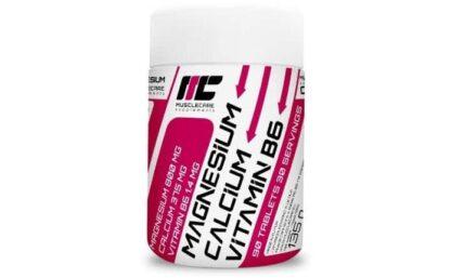 magnesio calcio & vitab6 integratore per la densità delle ossa e per l'energia