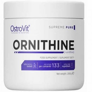 ornitina pura in polvere ottimo precursore di ossido nitrico e gh, favorisce l'eliminazione delle tossine, ideale per la prestazione sportiva