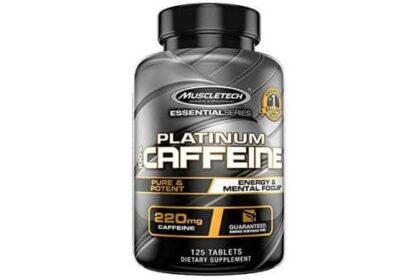 platinum caffeine integratore di caffeina ad alto dosaggio, ottima per dimagrire e fornire energia