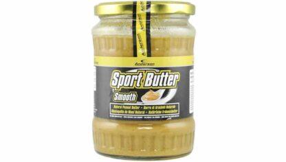 sport peanut butter è burro di arachidi naturale senza ocnservanti ne adulcoranti, ideale per fornire energia e proteine vegetali, ottimo per i vegani