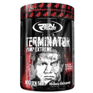 terminator pre workout formula per agire su pompaggio energia e concentrazione, ottima il tuo allenamento in palestra