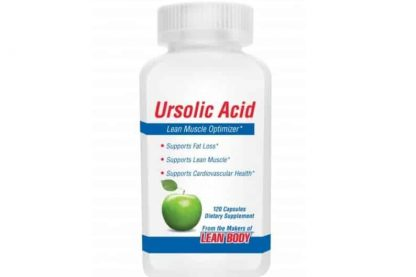 ursolic acid muscle optimizer integratore di acidi ursolico estratto dalle foglie di rosmarino, ottimo per massa e benessere del corpo