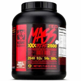 mass xxxtreme gainer 2500 prodotto post allenamento per accrescere la massa muscolare, carboidrati, proteine e composti anabolici