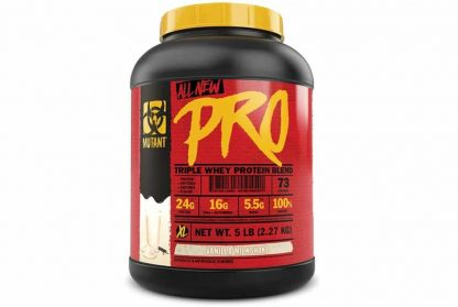 mutant pro triple whey proteina in polvere in blend sieroproteico ideale post workout dopo i pesi