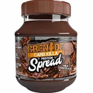 carb killa protein spread crema proteica spalmabile deliziosa e nutriente con bassi zuccheri e grassi saturi