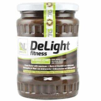 delight fitnes peanut butter burro di arachidi aromatizzato ricco di energia e proteine nobili