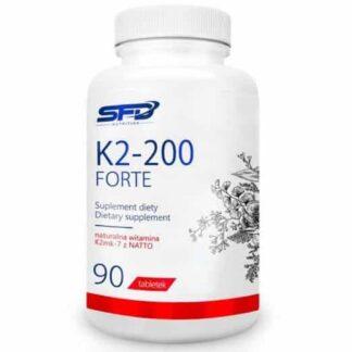 k2 200mcg forte integratore a base di vitamina k2 utile per aiutare la densità e la resistenza delle ossa
