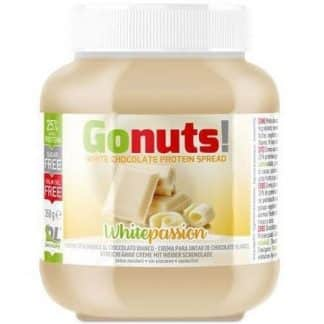 gonuts cioccolato bianco crema spalmabile proteica senza zuccheri e dolcificata con maltitolo