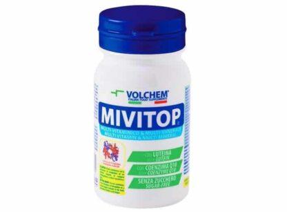 mivitop multivitaminico e minerale ad alto dosaggio ideale per il benessere del corpo e la funzione sportiva