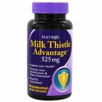 milk thistle advantage integratore per la funzione epatica e drenante