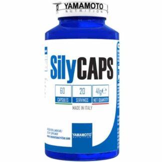 silycaps 750mg integratore a base di estratto di cardo mariano standardizzato in silimarina, ottimo come epatoprotettore