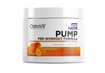 pump pre workout formula integratore per ottimizzare la prestazione fisica agisce sul pompaggio e su energia fisica e mentale